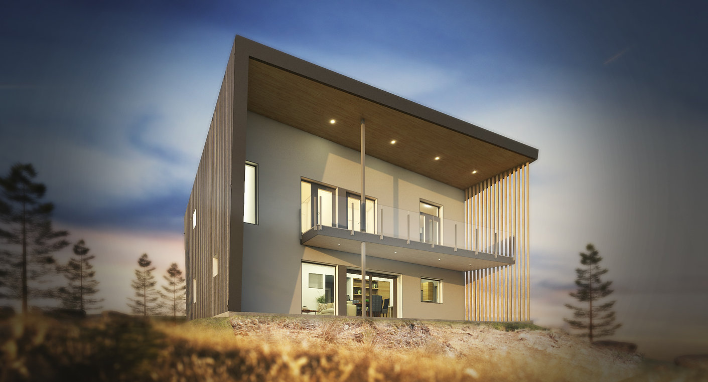 West Passive House Osoyoos BC Anarchist Mountain