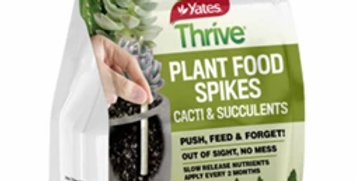 Yates Thrive Plant Food Spikes Cacti & Succulents
