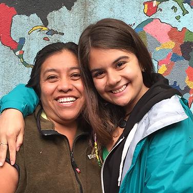 Infirmières de l'humanité | Maria Gonzalez souriante