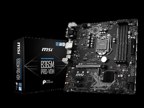 MSI B365M-PRO-VDH