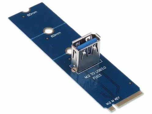 M2 a USB 3.0