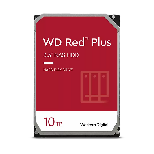 "WD Red™ Plus NAS 10TB Hard Drive 3.5"""