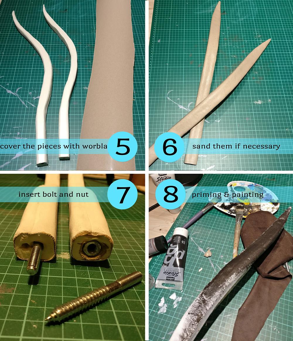 Cosplaytutorial Wie mache ich einen Bogen. Making of: der Bogen von Ygritte