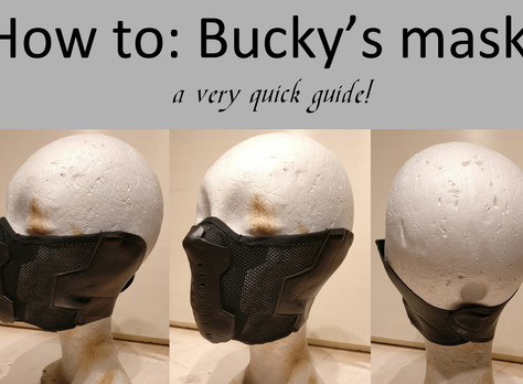 How to: Winter Soldier /Bucky Mask