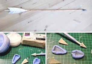 How to: DIY Cosplay Pfeile