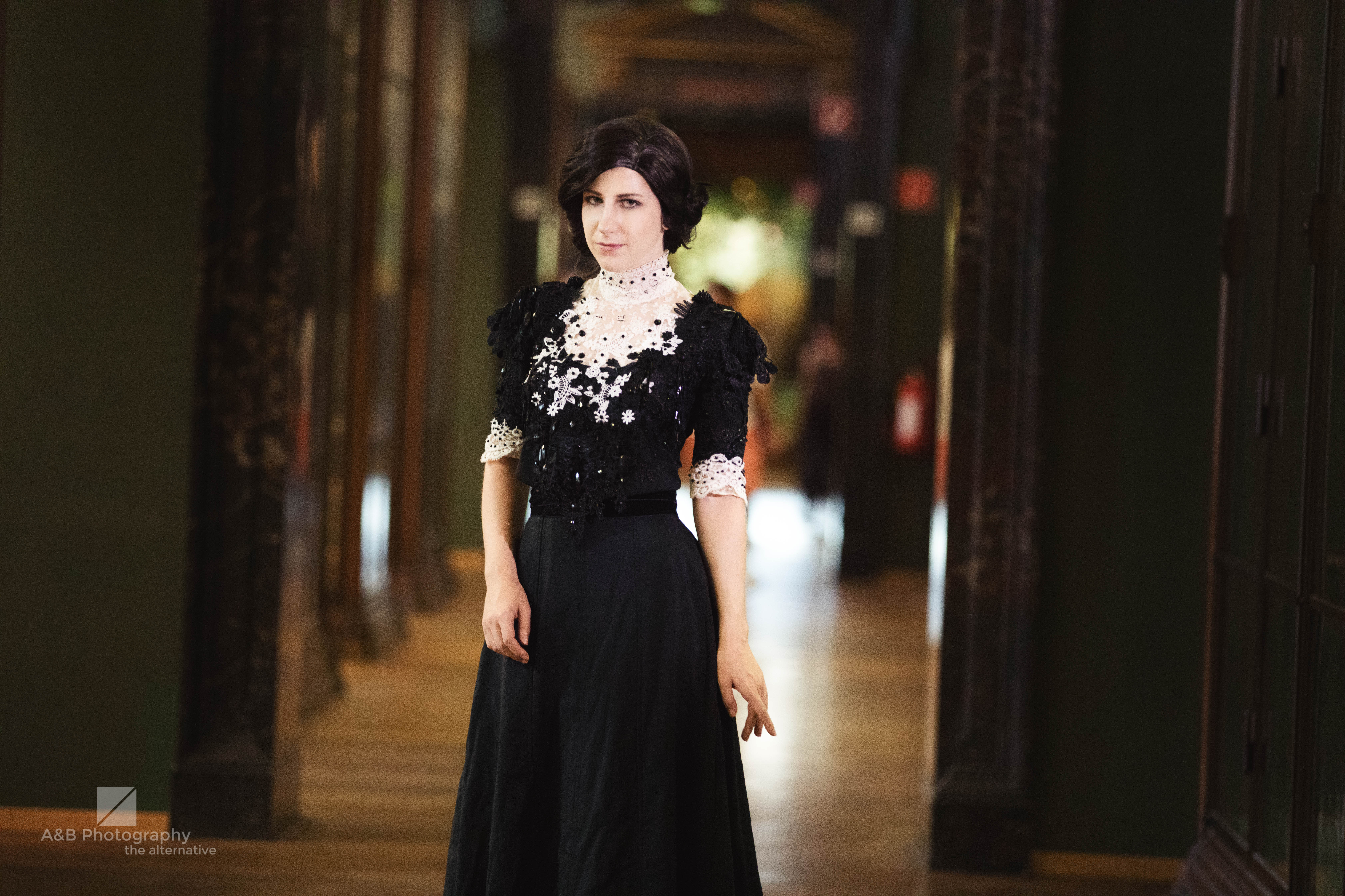 Vanessa Ives Penny Dreadful 19th century Costume