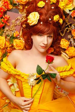 Belle (Die Schöne und das Biest) Barockinspiriertes Portrait