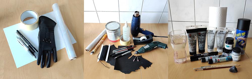 Für das Tutorial verwendete Materialien
