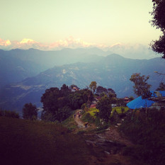 View from Guanshahar - Nepal