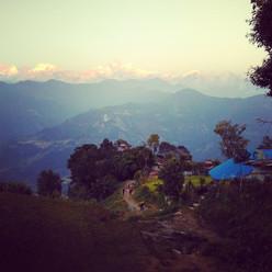 View from Guanshahar - Nepal