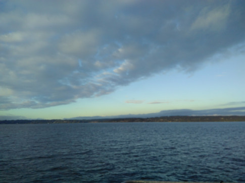 Ferry from Seattle to Victori