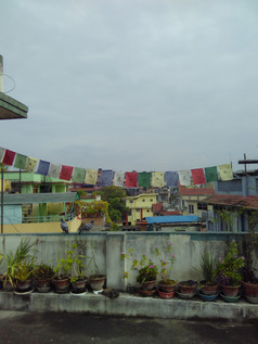 Rooftop view from Kathmandu