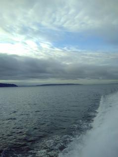 Ferry riding