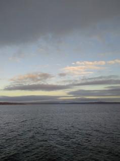 A beautiful calm ocean