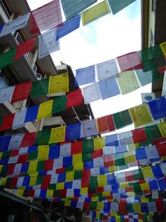 Prayer flags in Kathmandu
