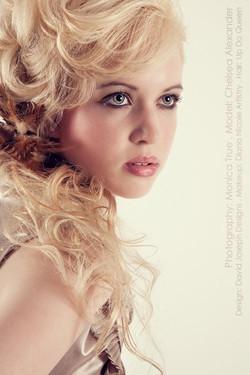 Hair_ Devon__Photographer_ Monica True__Makeup_ Thomas Van Dyke__Model_ Chelsea Alexander__Wardrobe