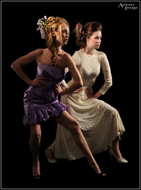 Photographer_ Thomas Van Dyke__Models_ Sammie and Diana__Hair_  Devon Langlas