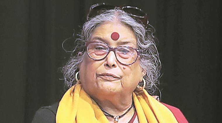 A headshot of the author, Nabaneeta Dev Sen