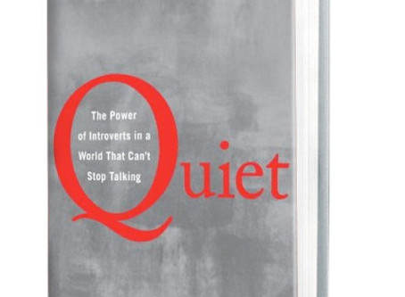 Quiet: The Power of Introverts in a World That Can't Stop Talking - A Book Review