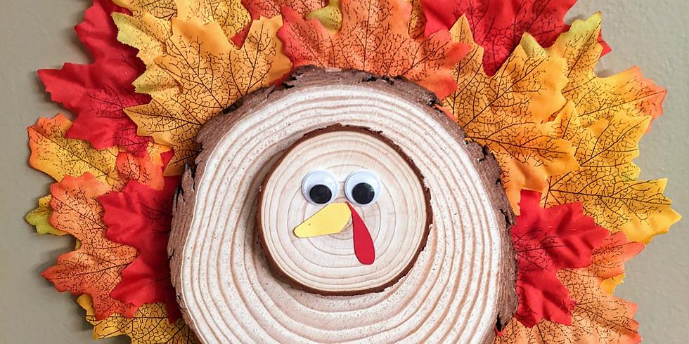 Kid's Kraft - Turkey Time!