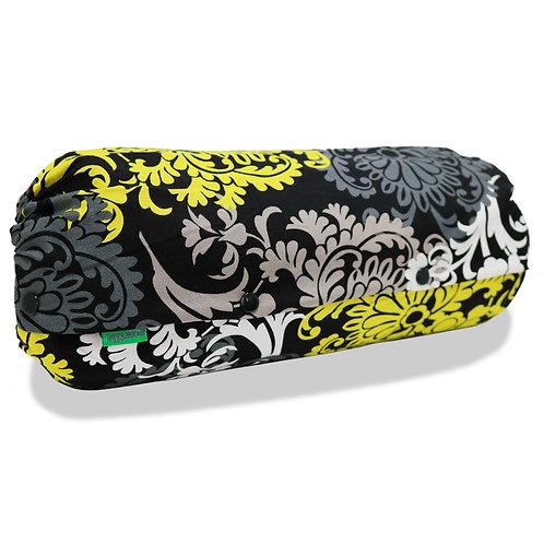 抱っこひも収納カバー [アートイエロー] 日本製 リバーシブル しっかり生地 [90日保証付] acortile(アコルティーレ)