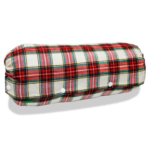 抱っこ紐収納カバー [タータンチェック白] 日本製 リバーシブル しっかり生地 [90日保証付] acortile(アコルティーレ)