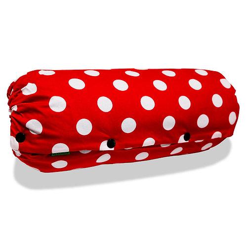 抱っこひも収納カバー [赤ドット] 日本製 リバーシブル しっかり生地 [90日保証付] acortile(アコルティーレ)