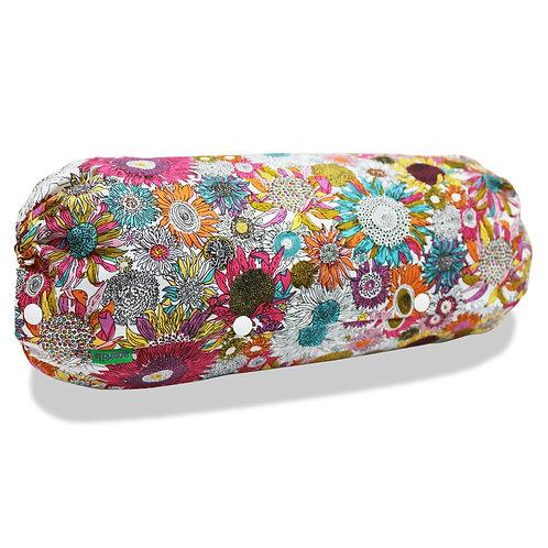 抱っこ紐収納カバー [ひまわりトロピカル] 日本製 リバーシブル しっかり生地 [90日保証付] acortile(アコルティーレ)