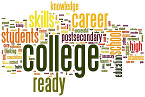 College Ready word map