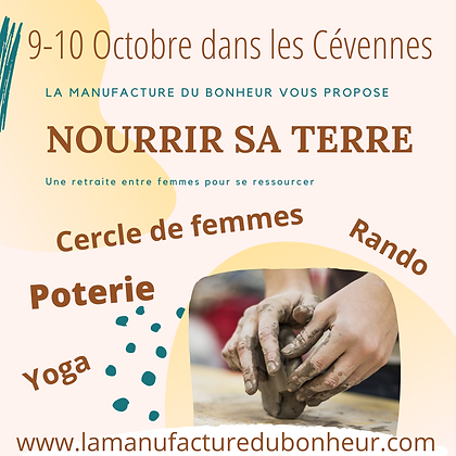 Nourrir sa Terre - Retraite entre femmes 9-10 Octobre
