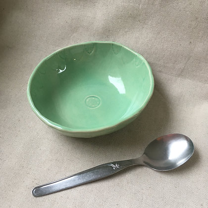 Buddha bowl feuilles vert