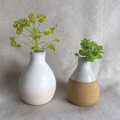 Mini-vase blanc