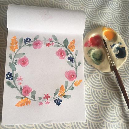 Précommande mini palette aquarelle