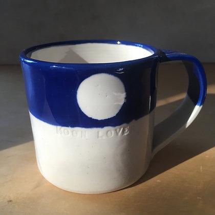 Mug Moon Lover bleu nuit