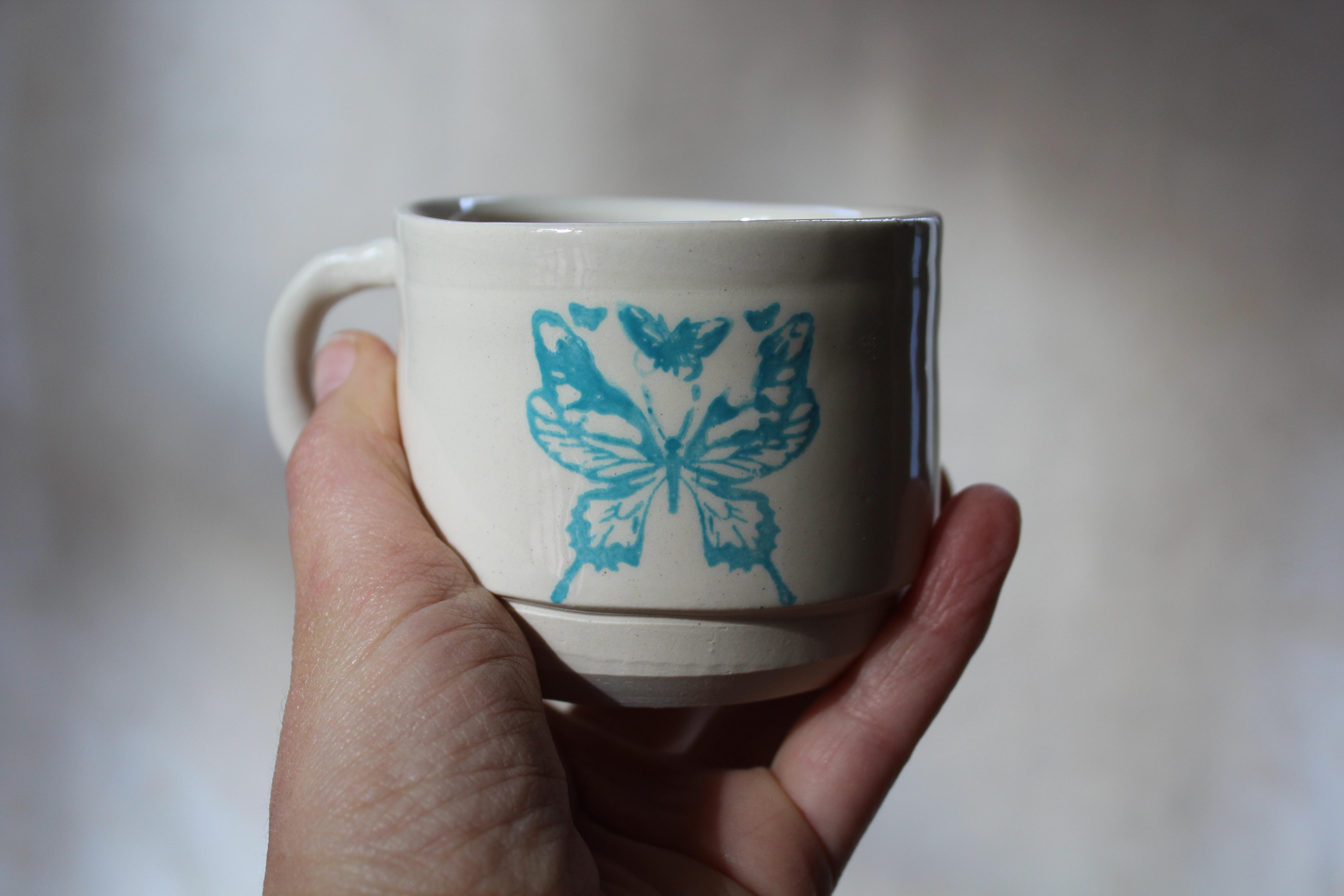 tasse papillon