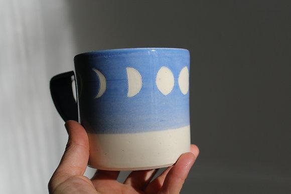 Mug Lunes bleu ciel