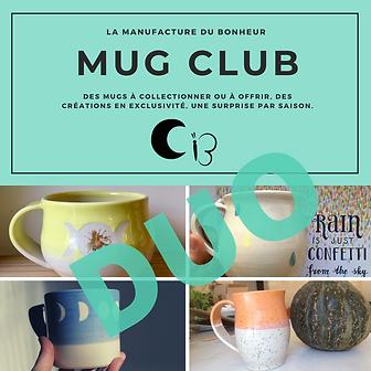 Mug Club Duo - inscription pour un an