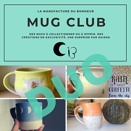 Mug Club Duo - inscription pour un an