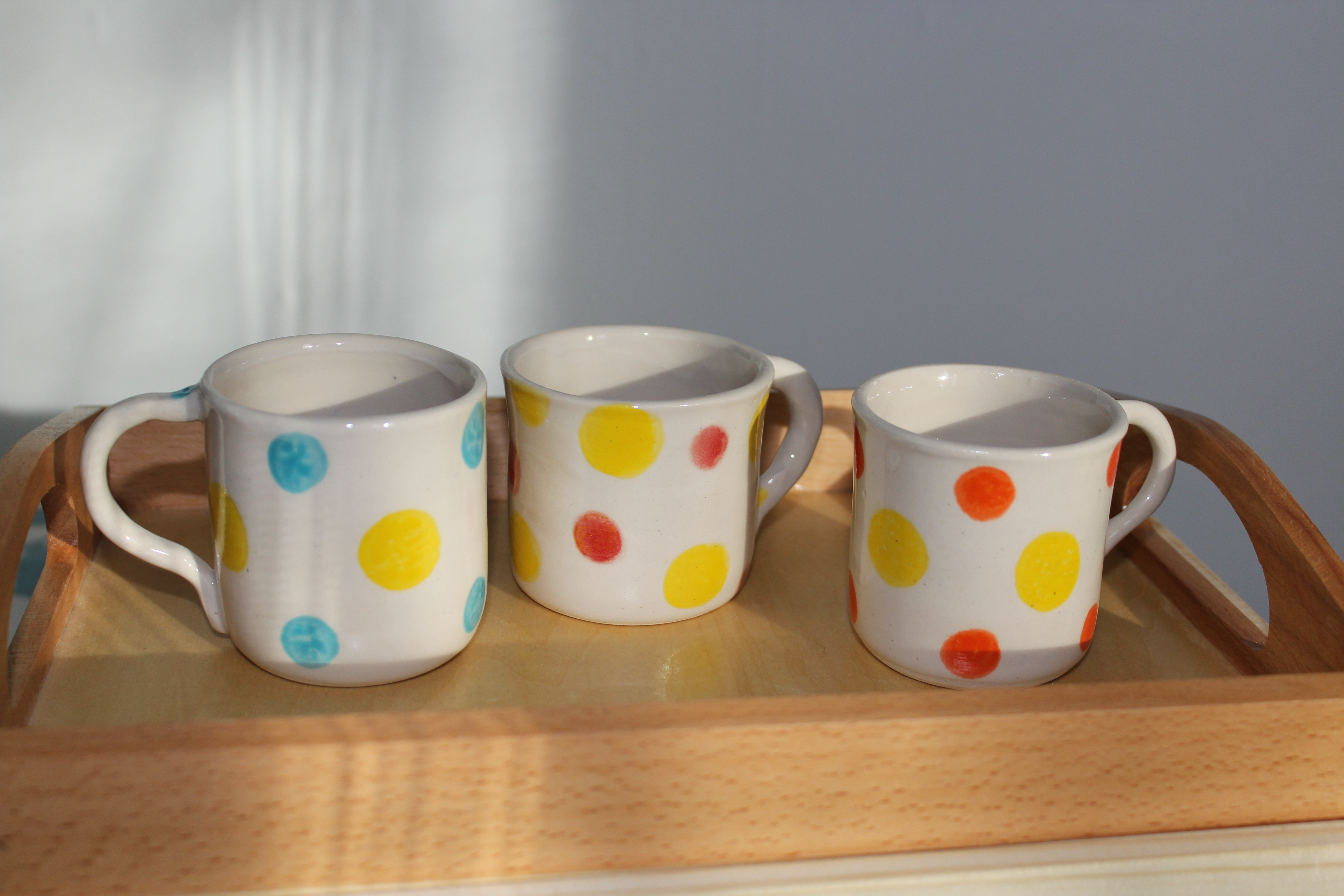 Petites tasses pois