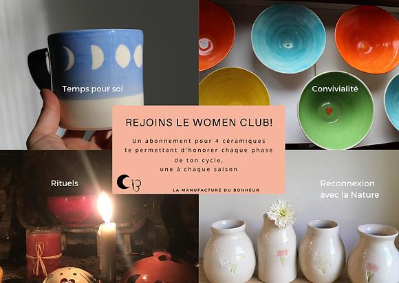 Duo Women Club - inscription pour un an