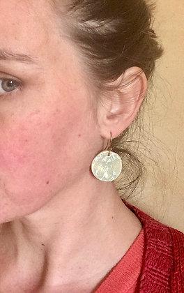 Boucles d'oreille rond