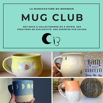 Mug Club - inscription pour un an