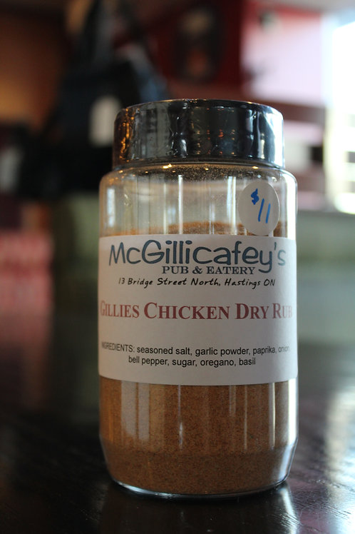 Gillies Chicken Rub