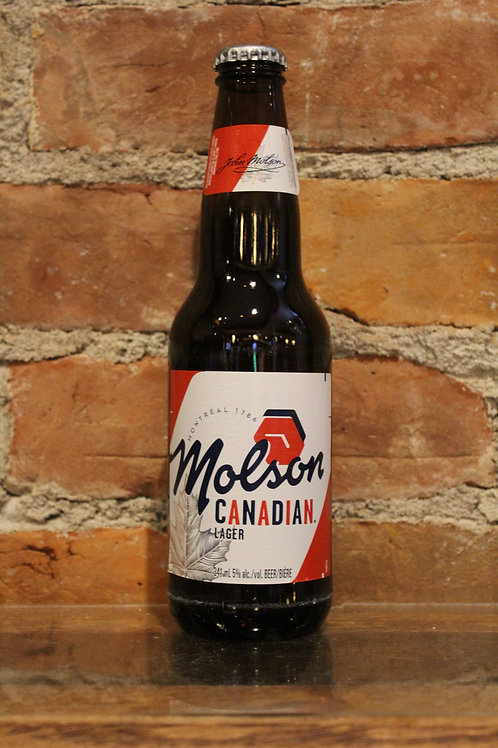 Molson Canadian Bottle