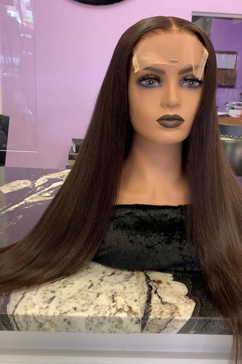 """Custom Wig - Raw, Cuticle, RUSSIAN Hair - 26"""" - 180% Density"""