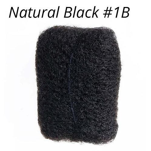 Natural Black- Afro Kinky Bulk Hair
