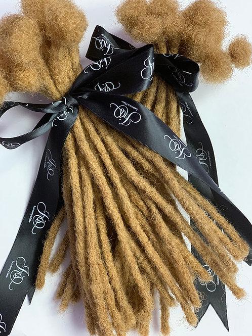 10 Inch -  Dreadlock Extensions - 100% Human Hair -#27