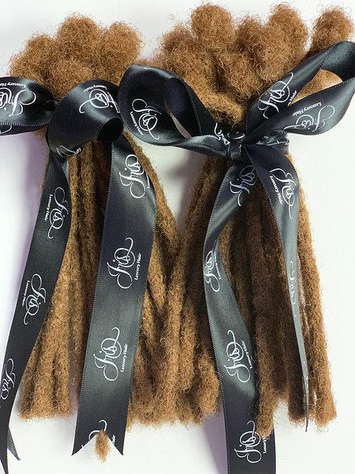 8 Inch -  Dreadlock Extensions - 100% Human Hair - #31 Brown