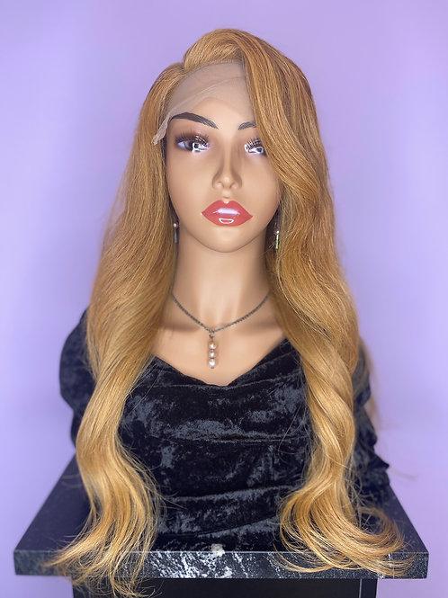 "Custom Wig - Indian Hair (Natural Wave) - 20"""