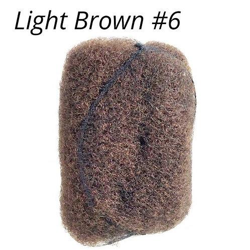 Light Brown #6- Afro Kinky Bulk Hair